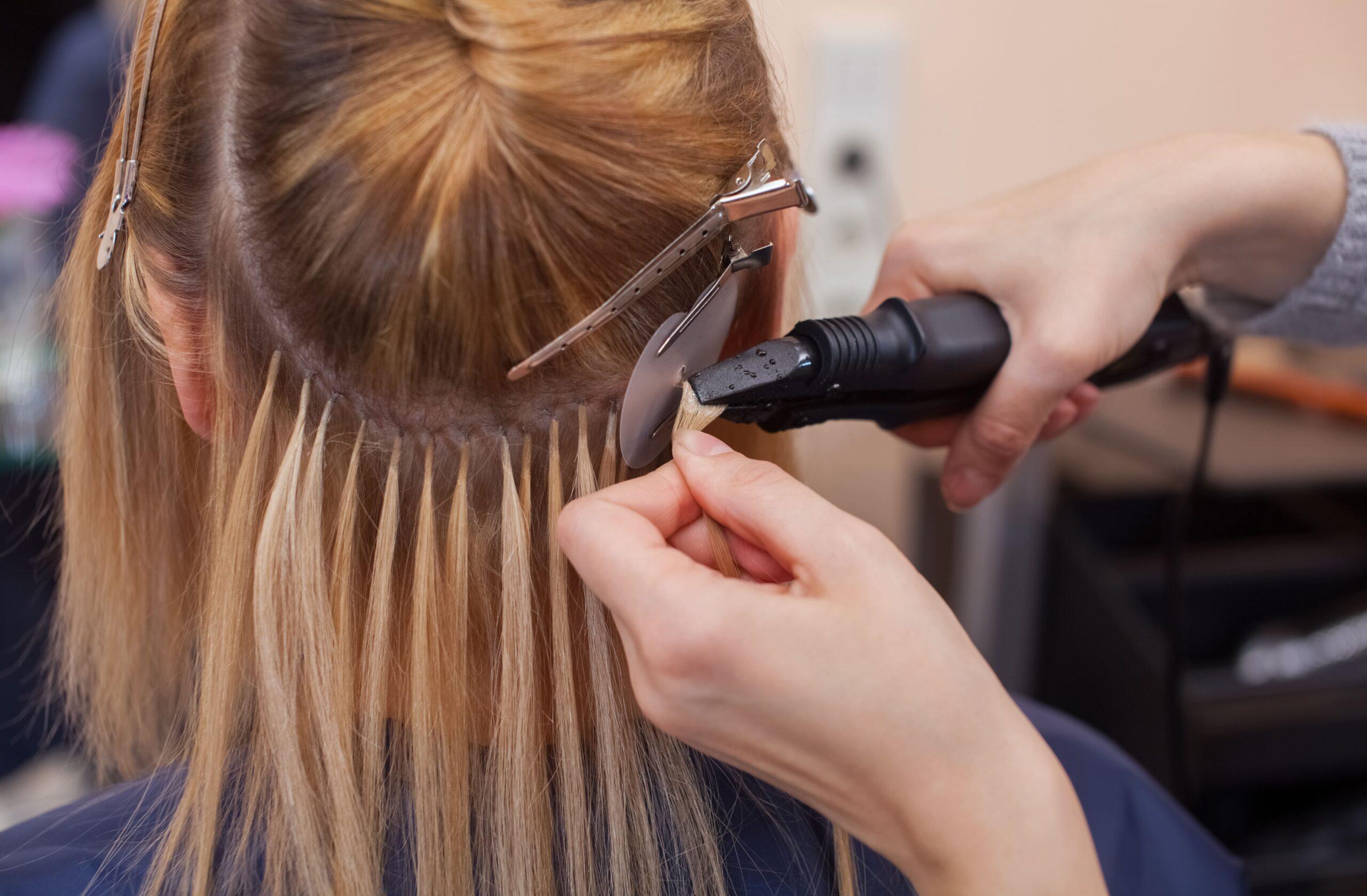 przedłużanie włosów Warszawa